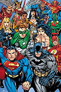 DC justice league poster