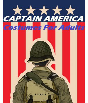 Authentic Captain America Costumes For The Adults