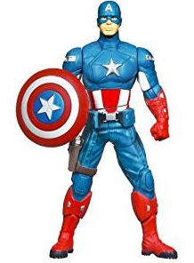Captain America Shield Spinning Figurine