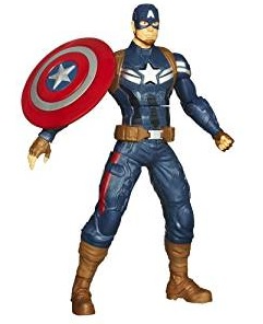 Captain America Shield Throwing Figurine
