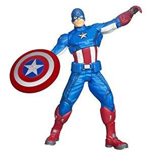 Captain America Shield Throwing Figure