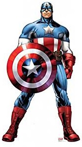 Captain America Standup Cutout