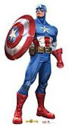 Best Captain America Cardboard Cutout