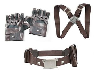 Captain America Costume Gloves And Harness