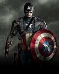 Captain America Superhero Poster