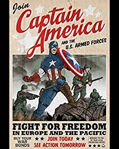 When was Captain America Created