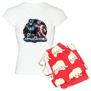 Captain America Ladies Pajamas