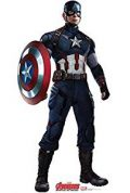 Authentic Captain America Costume For Adults