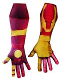 Mens Wrist Length Iron Man Gauntlets