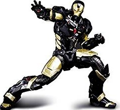 Black And Gold Iron Man Collectable