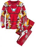 Kids Winter Iron Man Pajamas