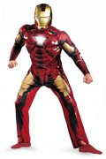 Iron Man Outfit With Muscles