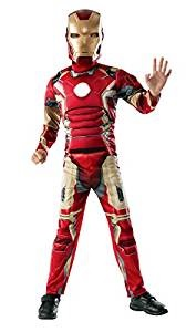 Kids Muscle Chest Irn Man Outfit