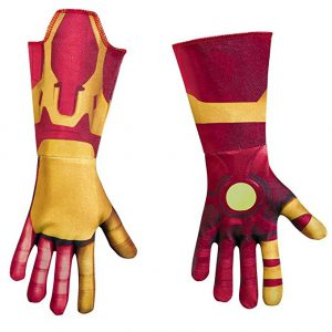 Kids Wrist Length Iron Man Gauntlet