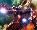 Iron Man Explosion Wall Picture