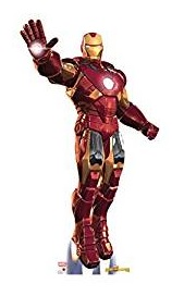 Iron Man Takes Aim Cardboard Cutout