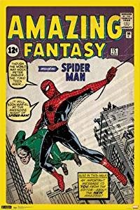 Spiderman First Appearance