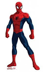 Ulitmate Spiderman Life Size Graphic