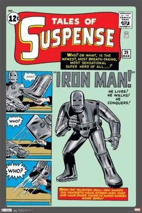 Iron Man First Comic Appearance
