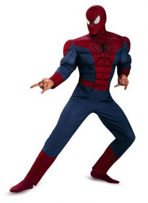 Heroic Spiderman Jumpsuit And Mask