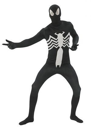Black Spiderman Costume For Adults