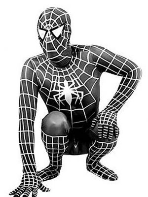 Adult Spiderman Alien Symbiote Costume