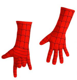Spiderman Costume Gloves