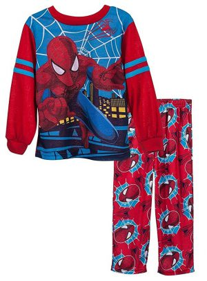 Amazing Spiderman Childrens Winter Nightwear