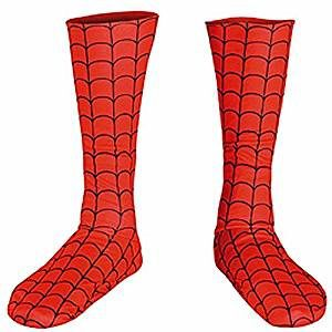 Childrens Spiderman Boot Covers