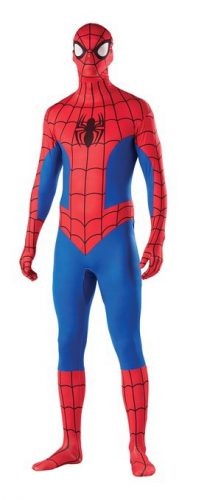 Second Skin Spiderman Outfit