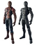 Different Costumed Spiderman Statues