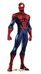 Spiderman Classic Red And Blue Costume