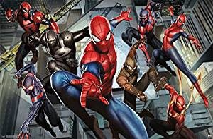 Ultimate Spiderman Characters Picture