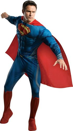 Man Of steel Muscle Costume