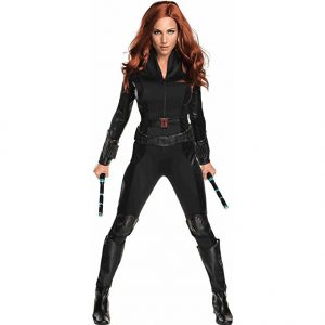 Black Widow Costume For The Adults