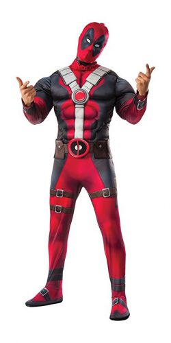 Authentic Deadpool Costume
