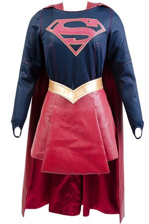 Realistic Supergirl Cosplay Costume For Sale