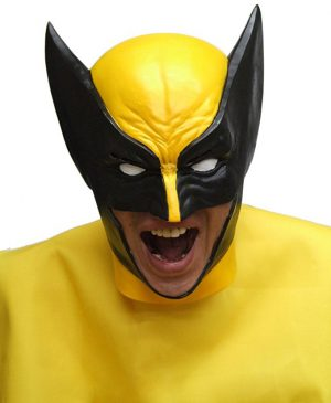 Realistic Adult Wolverine Latex Mask
